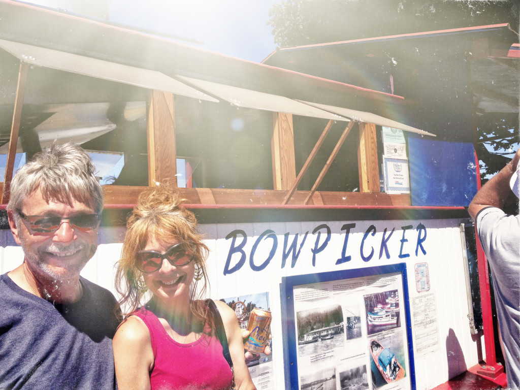 You'll see a line and you think, is it really that good? An hour? in 104 degrees? Really? Yes. Really http://www.bowpicker.com