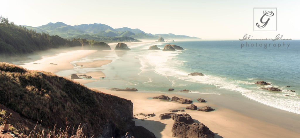 Ecola State Park overlooking Cannon Beach