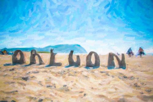 Canon Beach Watercolor